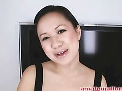 Carmina is a gorgeous twenty year old Oriental student, with a cute little body and an extreme longing for rod. It appears that Carmina has sucked off about fifty guys! That's a large number for anybody still in college. This Chick is too blessed with not having a gag reflex so that babe is able to take a wang down her mouth out of an issue. Amazing! After that babe unfathomable mouths my ramrod numerous times, I bow her over and fuck her constricted little shaved fur pie. This Chick wants my load in her mouth, so shen gets on her knees and recieves my full cum discharged into her mouth and swallows it down. This Chick is a fantastic schlong sucker and a great fucking lay.
